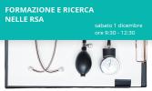 Si parla di formazione e ricerca in RSA a Viareggio, sabato 1 dicembre